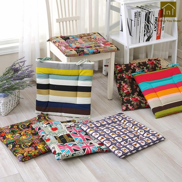 Decorative Seat Pads Cotton Chair Cushions Stool Outdoor Cushions Meditation  Chair Cushions With Ties Sofa Lounge
