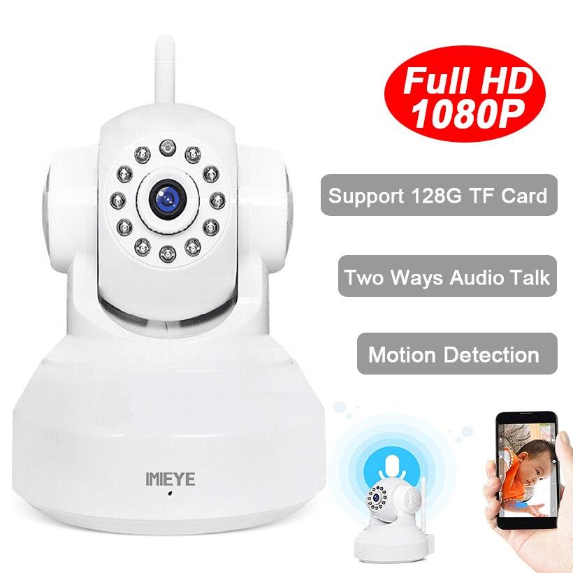 IMIEYE HD 1080 P 720 P Wifi Cámara IP Wireless IR CCTV Red de vigilancia de Seguridad Mini Cam Video Record Pan Tilt Baby Monitor