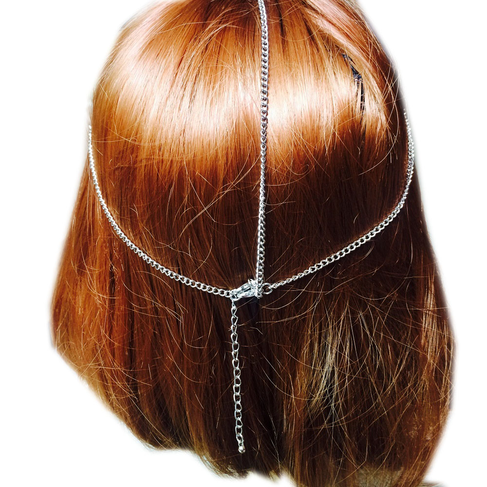 Liujee Kd030 Mesh Gilt Head Piece Boho Headband Bohemia