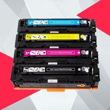 1PK совместимый тонер-картридж CF410A CF410 CF411A CF412A CF413A для hp color LaserJet Pro MFP M477fnw M477fdw M477 принтер