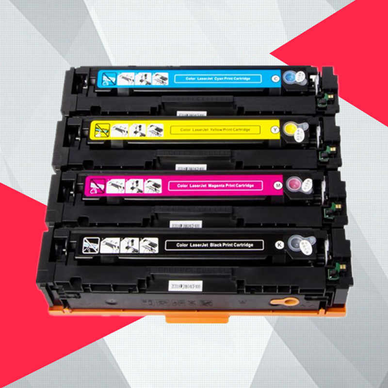 1PK Compatible Toner Cartridge CF410A CF410 CF411A CF412A CF413A for HP Color LaserJet Pro MFP M477fnw M477fdw M477 Printer
