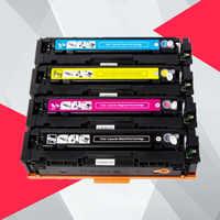 1pk compatível cartucho de toner cf410a cf410 cf411a cf412a cf413a para hp cor laserjet pro mfp m477fnw m477fdw m477 impressora