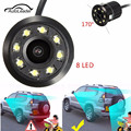 8 IR LED Night Vision Car Rear View Camera 170 Wide Angle Universal Car Reverse Rearview Camera Car Backup Parking Camera