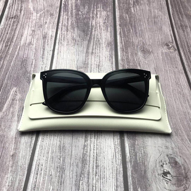 HUHAITANG Luxury Square Oversized Sunglasses Women Fashion High Quality Sun Glasses Brand Designer 2019 Vintage Ladies Sunglass 5