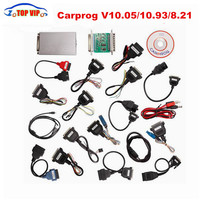 Best Price Carprog Full V10.05/10.93 Auto Repair (radios,odometers, dashboards, immobilizers) ECU Chip Tunning Car Prog New