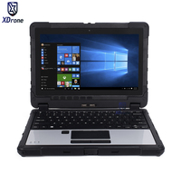 Rugged Laptop Computer Military Mobile 10 Pollice Tablet PC Tough Windows 11.6 Intel skylake 8G RAM RS232 with Stylus Keyboard
