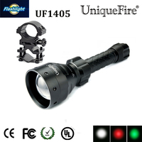 UniqueFire 1405 XPE Tactical LED Flashlight Kit 1 Ultra Bright Flashlights Rechargeable 5 Modes Water Resistant