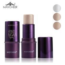3 цвета набор тонального крема консилер для макияжа в стике ручка дополнительно корректор контурный палитра для контуринга макияж