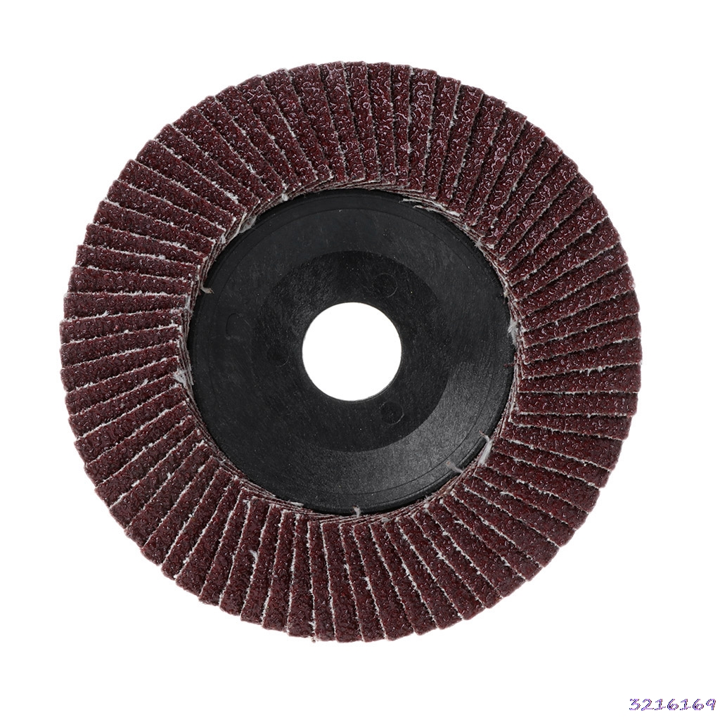 Polishing Grinding Wheel Quick Change Sanding Flap Disc For Grit Angle Grinder 80 Grit 100x16mm