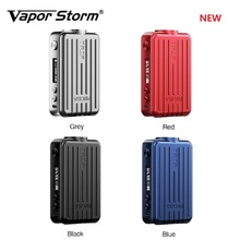 цена на Original Vapor Storm Trip TC Mod Smallest 200W High Power E-cig Mod with 0.91 Inch Screen & Side Fire Button Vs Drag 2/ Gen Mod