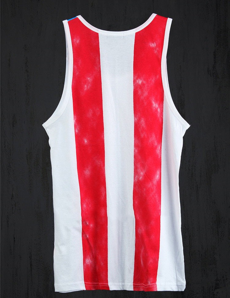 Tank Tops Men 2016 Cool Gym Shark Tshirt Casual Singlet National flag Vest Striped Slim Fit Gym Sport Sleeveless Hip Hop Clothes (4)