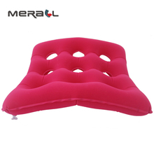 цены Inflatable Seat Cushion Hip Brace Support Anti Bedsore Decubitus Chair Pad Therapy Wheelchair Mat Home Office New Seat Cushion