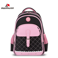 RUIPAI Polyester Kids School Backpack Schoolbags Shoulder Bags For Primary School Girl Pink Bags Orthopedic Backpack