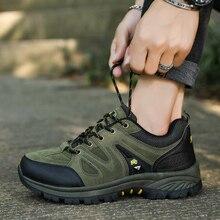 Новинка, Мужская походная обувь для взрослых, осенне-зимние модели, теплая и удобная дышащая обувь, большие размеры 39-44