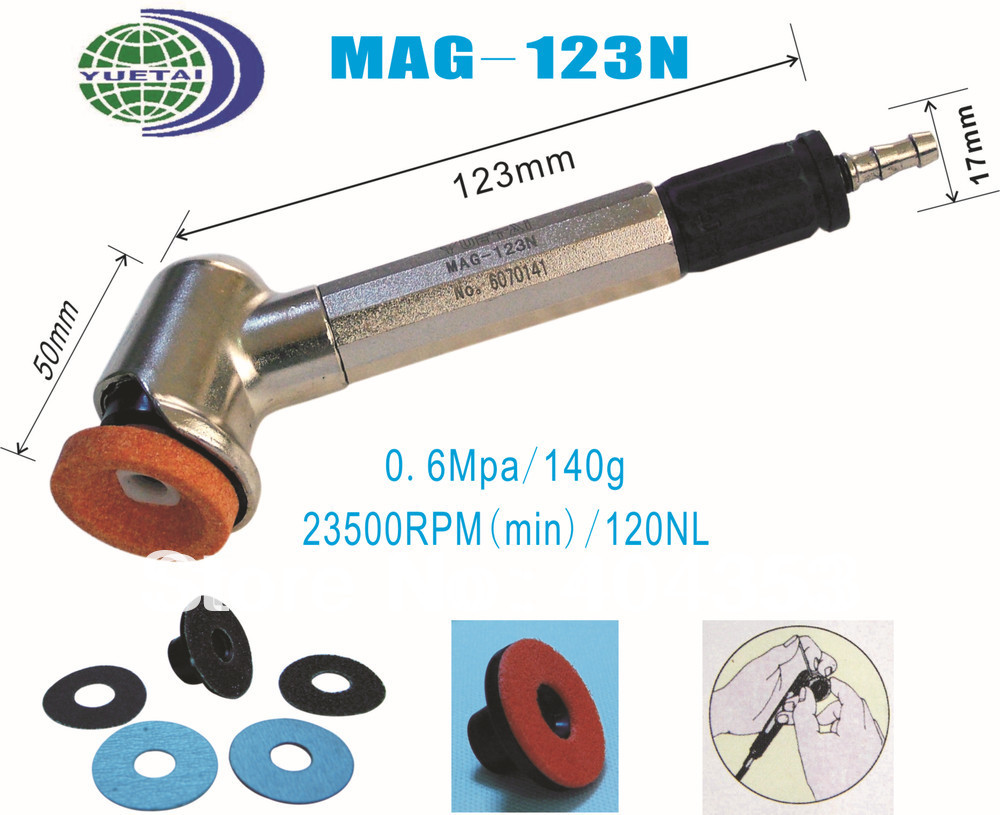 Mirco Air Grinder  (MAG-123N) angle  grinder (Max.Free Speed:23,500RPM Collet Size: 30mm 0.6MPa) mirco air grinder mag 122n 35 000rpm collet size 20mm 0 6mpa 140g