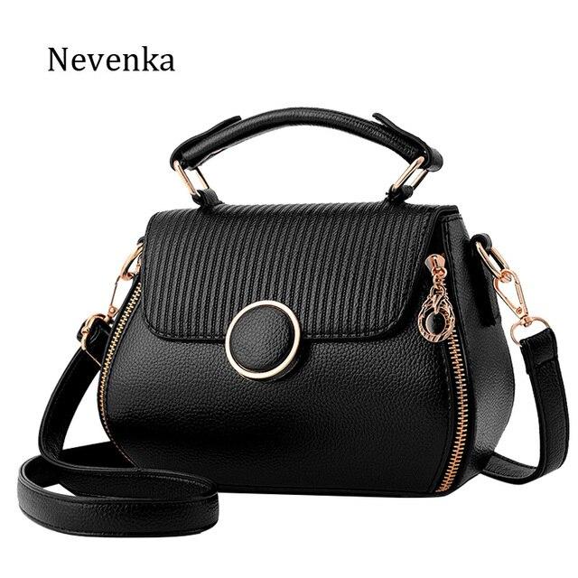 Nevenka Women Bag PU Leather Brand Handbag Colorful Evening Bags Style Flap Designer  Female Fashion Tote Lady Shoulder Bag Sac f6e1779500533