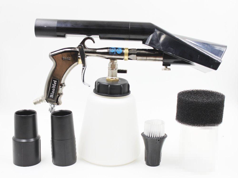 NEW Z-020 air regulator high quality bearring tube tornador gun combo vacuum adapter(2in1 clearn &vacuun togeth)(1whole gun)