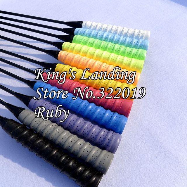 f360c25e6 100 pcs EVA Anti-slip tennis grip tapes,tennis overgrip,badminton grip,badminton  overgrips 11 COLORS