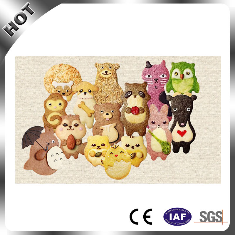Animal Cookie Moulds Cake Chocolate Molds Sheep Bone Dog Squirrel Cookie Cutter Stainless Steel Material in Cookie Tools from Home Garden