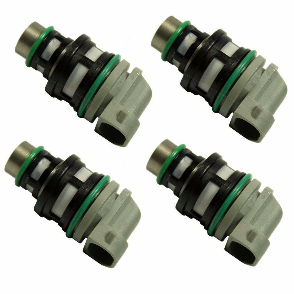 New Set of 4 Fuel Injectors 2.2 For GMC Cavalier Buick Pontica 17113197 17113124