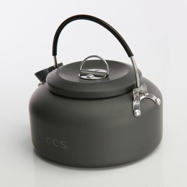 Campcookingsupplies Sports & Entertainment Shop For Cheap 1.1l Camping Outdoor Water Kettle Pot Teapot Picnic Cookware Coffee Ultra-light Hiking Survival Aluminum Portable Compact