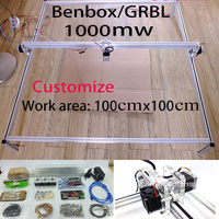 Fancy Laser Carving 1000mw 100 100cm Area Mini DIY Laser Engraving Machine IC Marking Laser Printer