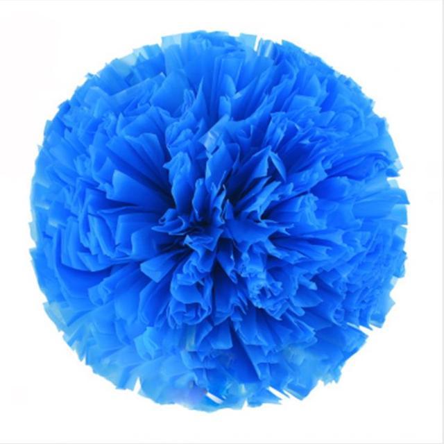 Blue Small cheer pom poms 5c64fbbde3f95