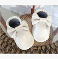 2015 New Style Baby Moccasins Soft Moccs Baby Shoes Boys Girls Kids 100% Leather Newborn Baby Prewalker Babe Shoes free shipping