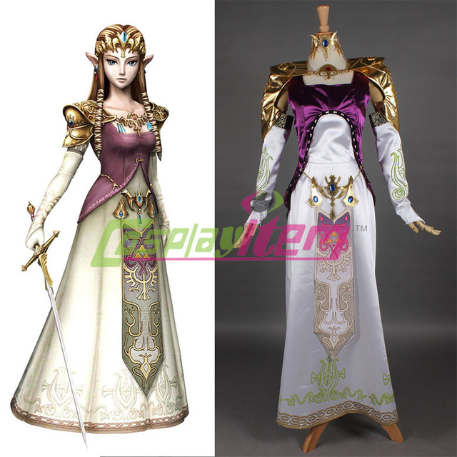 customized movie the legend of zelda princess zelda commission