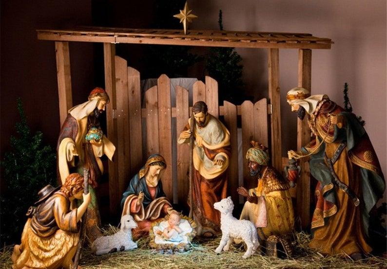 иисус родился в хлеву картинка чем купить