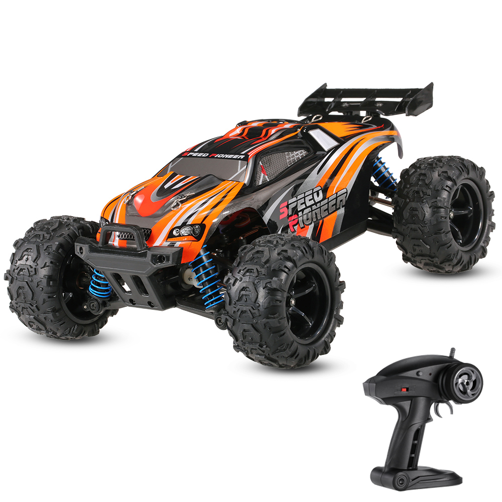High Speed RC Racing Car 4WD Off-Road RC Vehicle Speed for Pioneer 1/18 2.4GHz Truggy RTR Remote Control Car