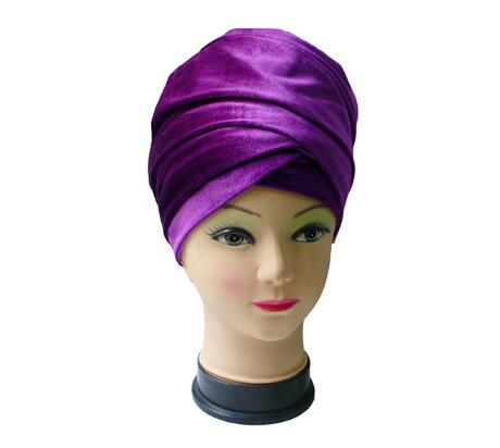 2017 Women Headwear Velvet Headwrap Women Earwarmers Scrunchy Twist Hair Band Turban Bandana Bandage Hijab Head Wrap Tie India