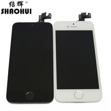 SHAOHUI Un quanlity Pour iPhone 5S LCD Écran Tactile Digitizer Ensemble complet avec appareil-photo avant + capteur flex + maison bouton