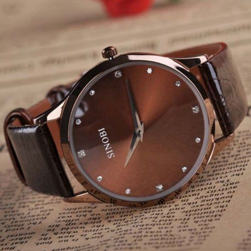 aliexpress com buy sinobi mens watches luxury brand quartz aliexpress com buy sinobi mens watches luxury brand quartz watch men leather strap simple business casual dress clock 2015 hot erkek saat from