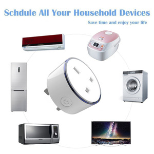Image 5 - Smart phone charger UK type Wireless WIFI Remote Control socket Home Voice Control Works With Google Home Mini Alexa IFTTT