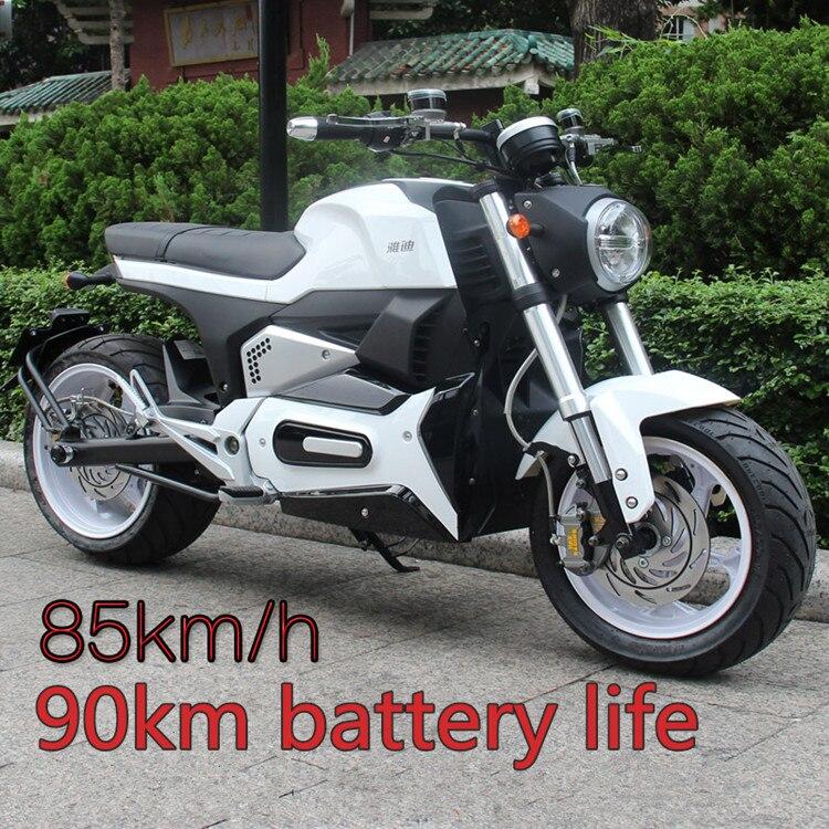 Hcgwork Yadea M6 электрический мотоциклобезьяна Ebike Msx Монстр 85 кмч 90 км Срок службы батареи 72 В 35ah Одежда высшего качества купить на AliExpress