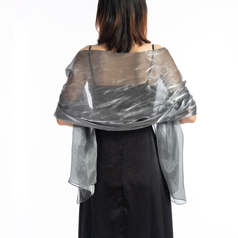 New Fashion Tulle Scarf Silky Iridescent Scarf Wrap Stole Shawl For Weddings Bridal Bridemaids Evening Wear Prom & Parties