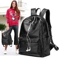 Brand New 2019 Designer Cowhide Genuine Leather Women's Backpacks Ladies Girl Laptop School Bag Real Large Capacity Mochila N044
