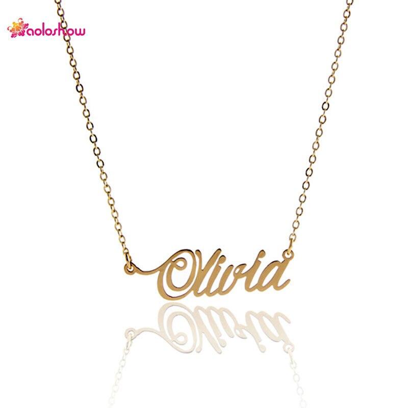 گردنبند مخصوص نامه AOLOSHOW مخصوص - جواهرات مد
