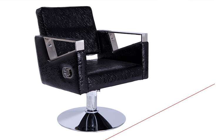 High-end Styling Cotton Hair Salons Dedicated Barber Chair. The Hairdressing Chair Can Lift Can Be Put Down.
