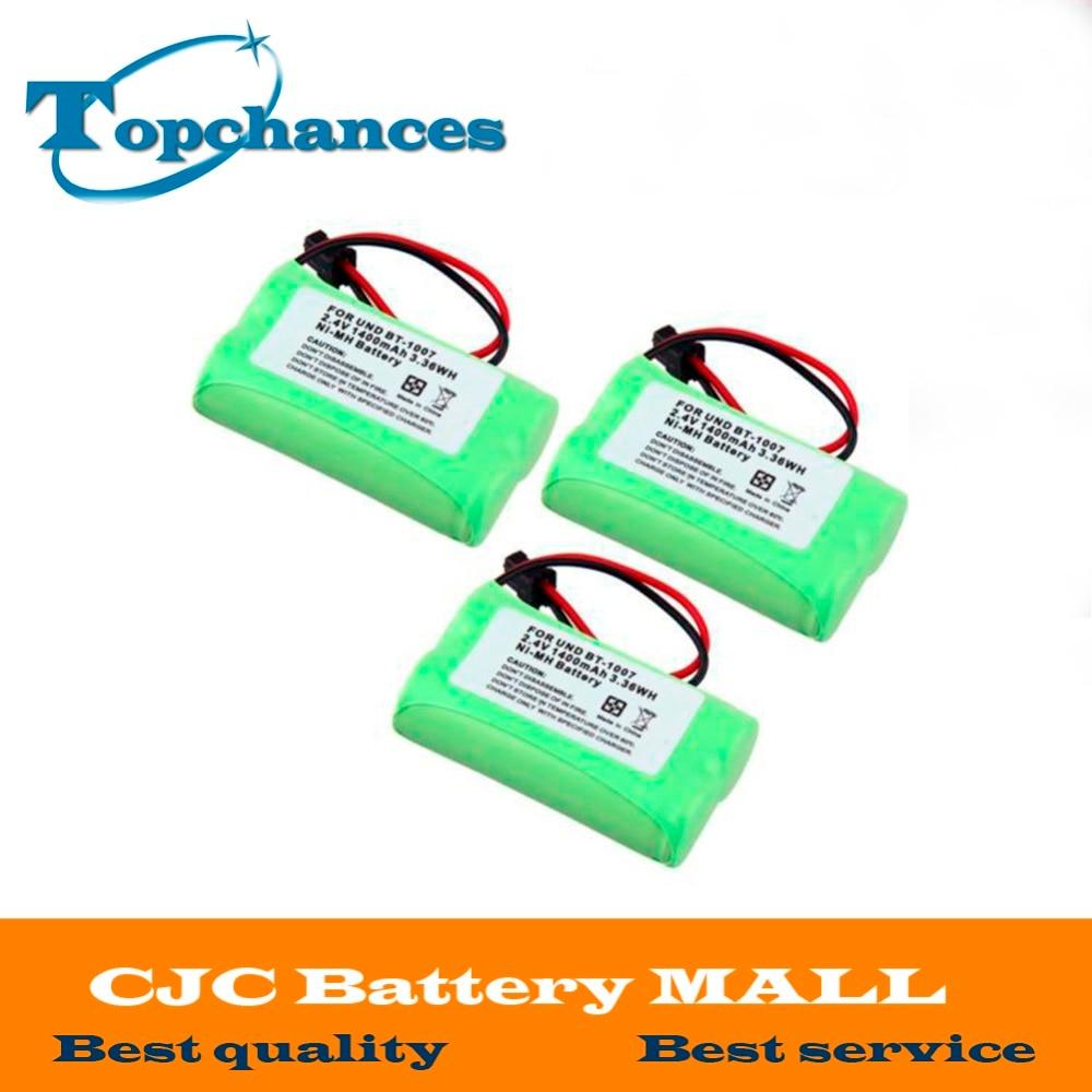 3pcs Lot 2aa Ni Mh 24v 1400mah Rechargeable Cordless Home Phone Sanyo Eneloop Battery Aa 2pcs For Uniden Bt 1007 Bt1015