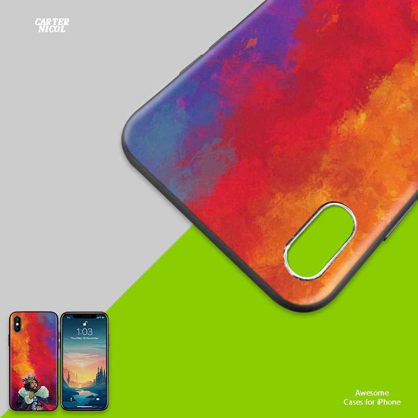 J COLE хип-хоп противоударный силиконовый чехол для iPhone X XS XR XS 11 11Pro Max 7 8 6 6S 5 5S 5C SE Plus Fundas Capa чехол для телефона