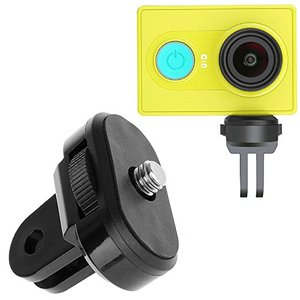 Image 2 - For XiaoMi Yi Mijia mini Panoramic 360 Mi Sphere Camera 1/4 Screw Tripod Mount Holder Conversion Adapter for GoPro Accessories