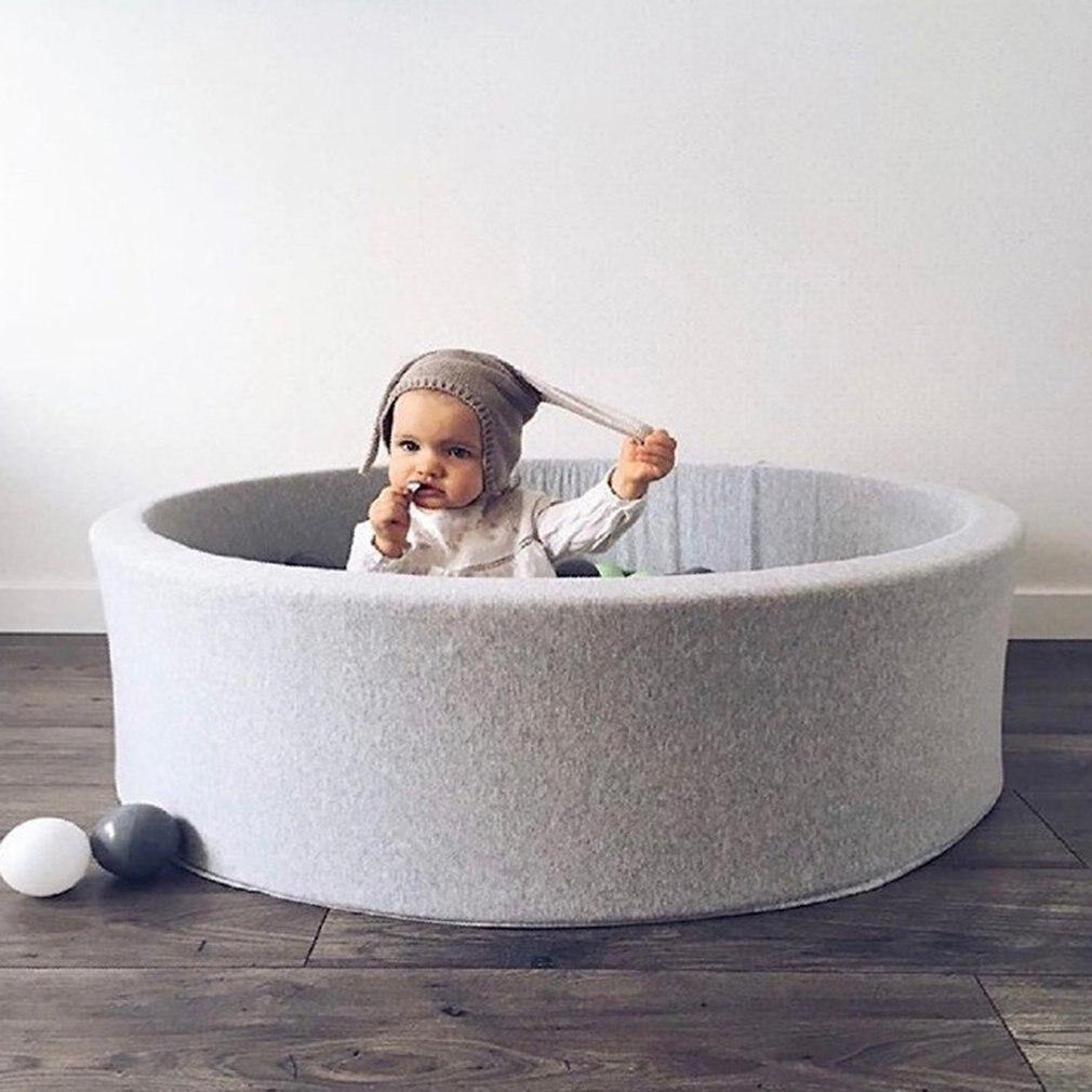 Romantisch Kinder Fechten Manege Sofa Zelt Grau Runde Spielen Pool Baby Ball Pool Pit Laufstall Für Kinder Spielplatz Spiel Zelt Geburtstag Geschenk