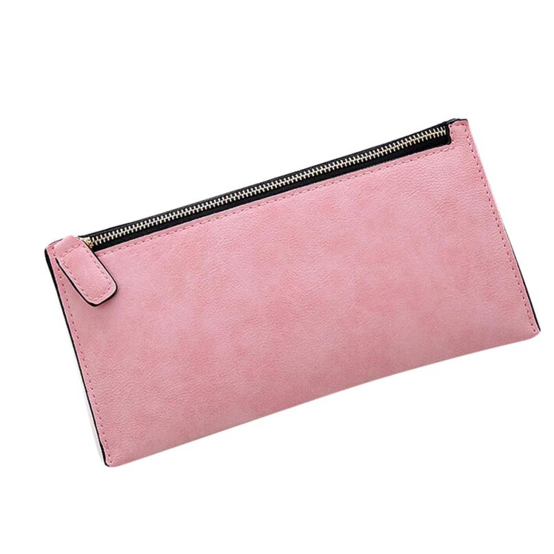 Women's Wallet Hot Sale Fashion Women Leather Purse Clutch Card Holder Female Long bags Money Carteira Vintage Drop shopping  baellerry business wallet clutch long men purse hot sale card holder designer hand bags for man handy bags bid162 pm49