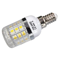 E14 5 W ניתן לעמעום 27 SMD 5050 אור LED תירס מנורת הנורה טמפרטורת צבע: לבן חם (3000-3500 K) כמות: 10 יחידות