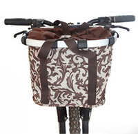 High Quality Aluminum Mountain Bike Basket Quick Disassembly Bicycle Pet Carrier Bag Bicycle Basket For Dogs