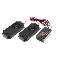 RC RC Car 2nd Generation Cool Throttle Linkage Groups Engine Sound Simulator With 2 Speakers for RC Sports Car Model Part