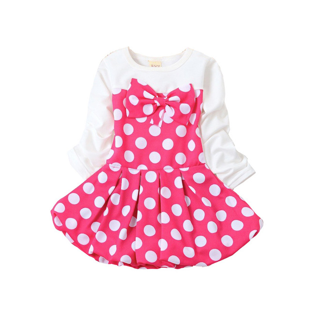 Bibicola 2017 New Baby Dress Suit Infant Girl Dresses Striped Baby