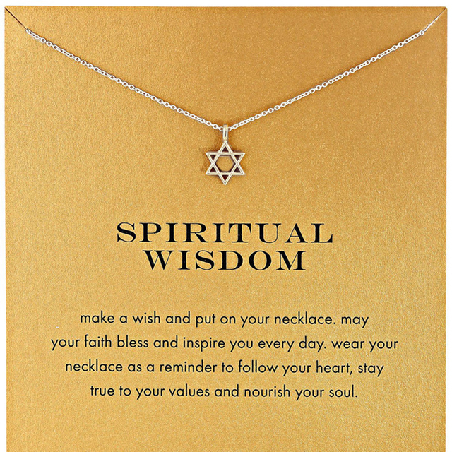 Silver gold color spiritual wisdom hexagram girl short chain star necklaces pendants jewelry for women na in choker necklaces from jewelry silver gold color spiritual wisdom hexagram girl short chain star necklaces pendants jewelry for women mozeypictures Choice Image